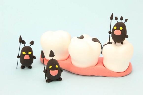 治験で治す虫歯のイメージ